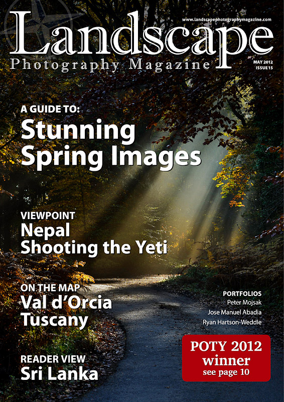 Re designed landscape photography magazine issue for Free home magazines by mail