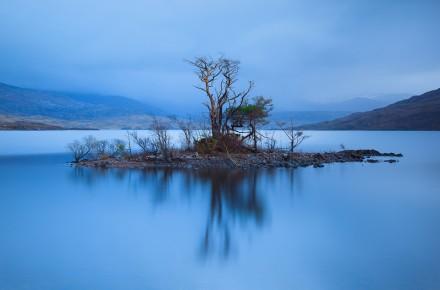 Loch-Assynt-Island