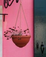 Burano hanging basket